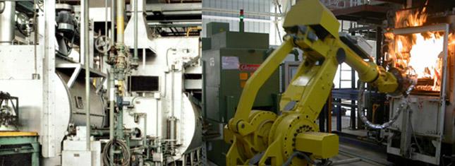 Relau Penyusukkarbonan Gas Berterusan - Relau Gas